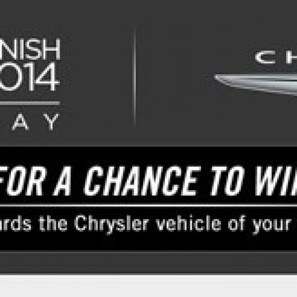 Win $30,000 to Buy a 2015 Chrysler, 2014 Dodge, Jeep, or Ram