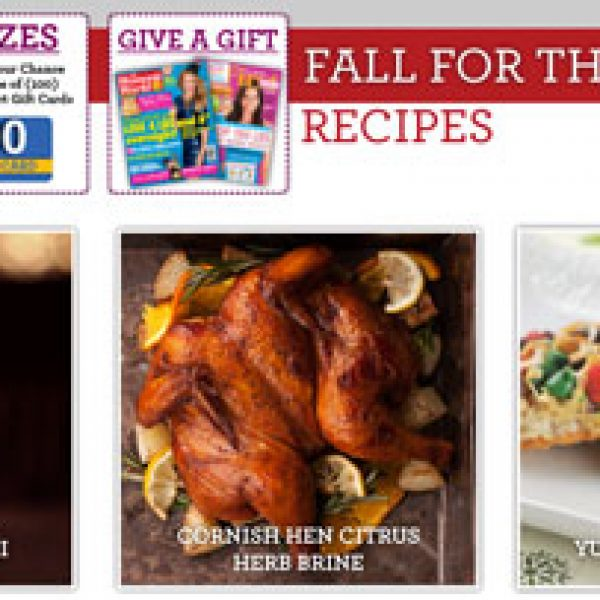 Seasons Eatings: Great Holiday Recipes and Win $100 Walmart Gift Card!