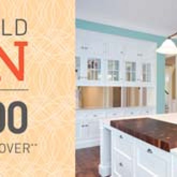 Win a $15,000 Kitchen Makeover!