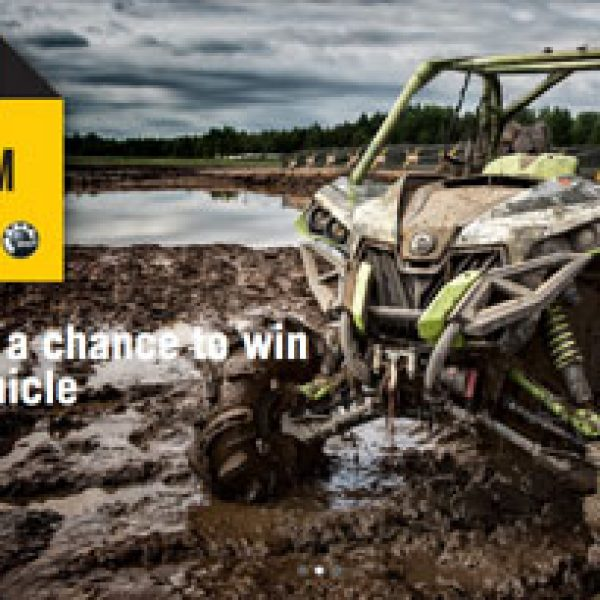 Win a Can-Am Off-Road vehicle Worth $20,000