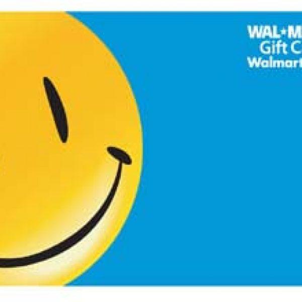 Win a $1,000 Walmart Gift Card!