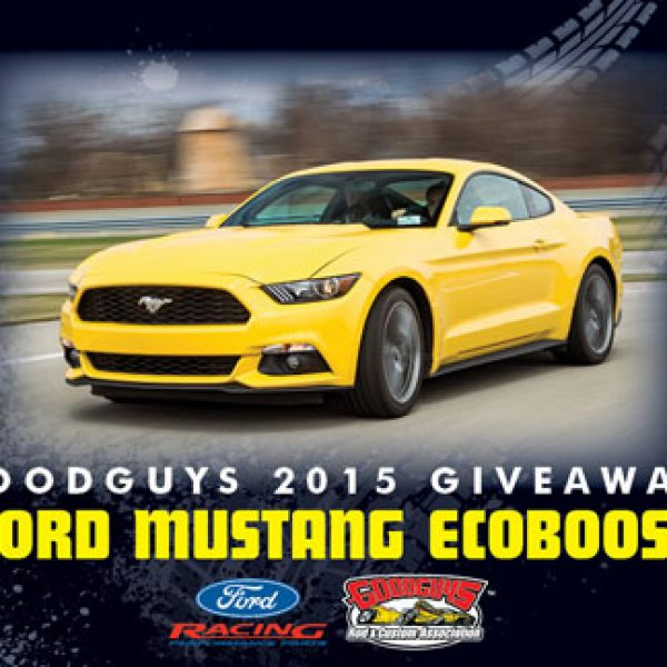 Win a 2015 Ford EcoBoost Mustang