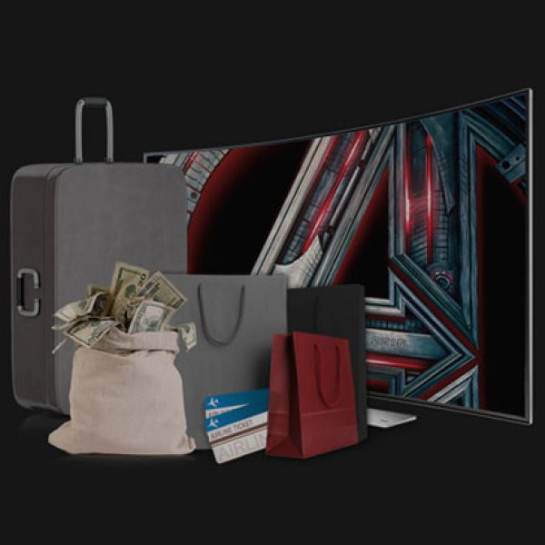 Win a Curved TV, a Home Theater, a Private Age of Ultron Screening, Marvel Swag and More