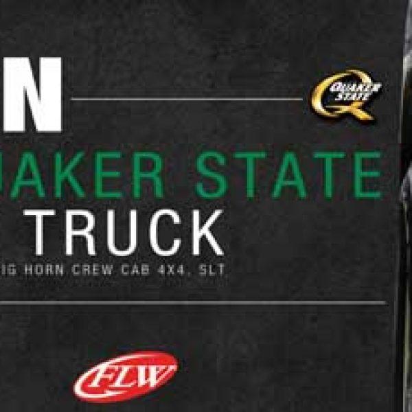 Win a $43,215 Quaker State Ram Truck!