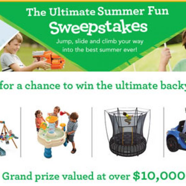 Win $10,000 Worth of Outdoor Toys