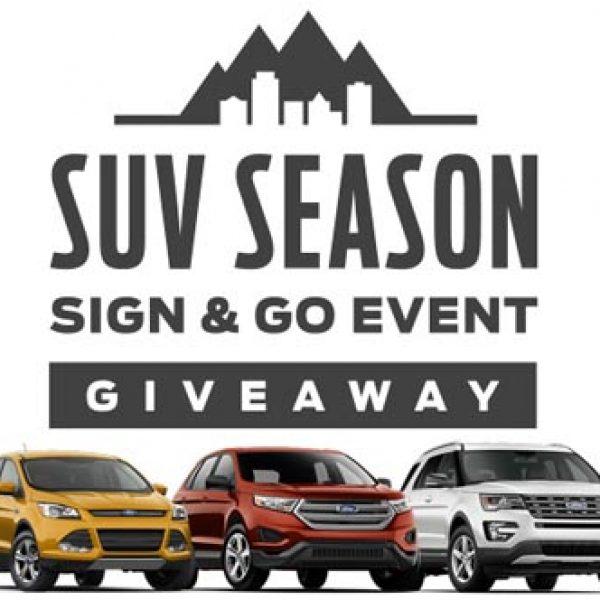 Ford SUV Season $30,000 Giveaway!