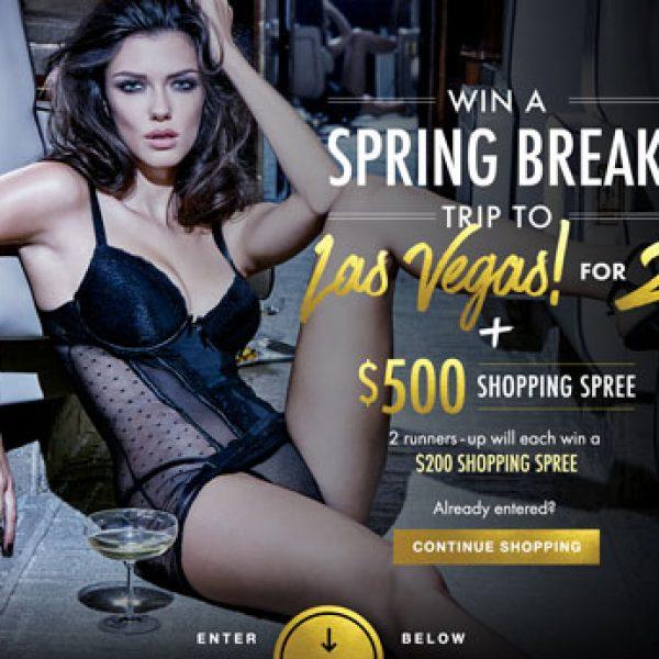 Spring Break Las Vegas Sweepstakes!