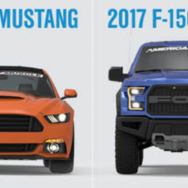 Win a Ford Raptor & 850 HP Mustang!