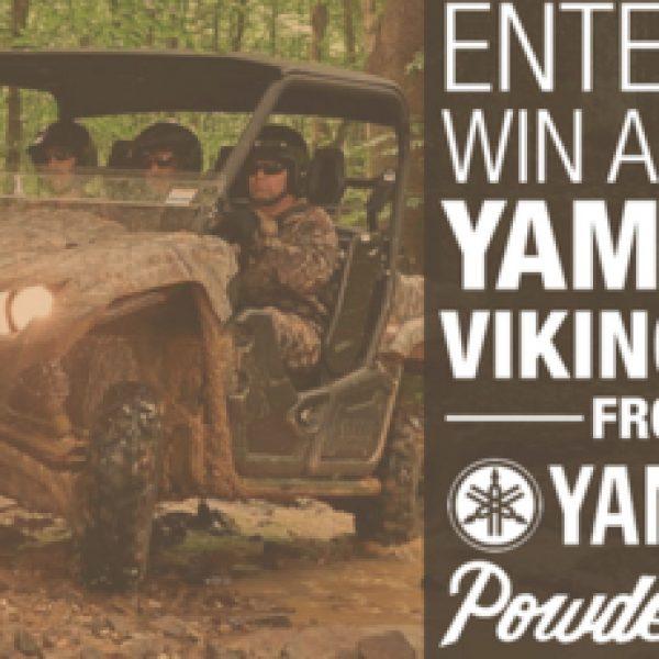 Win a 2017 Yamaha Viking EPS ATV worth $14,000!