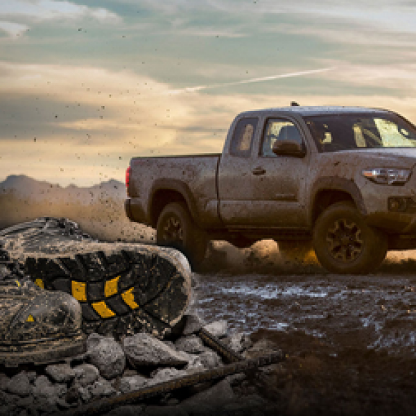 Win a Toyota Tacoma or Yeti Cooler!