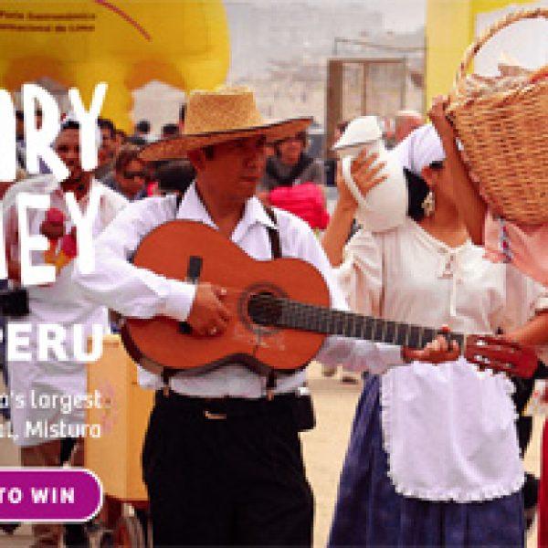 Win a Culinary Journey to Peru!