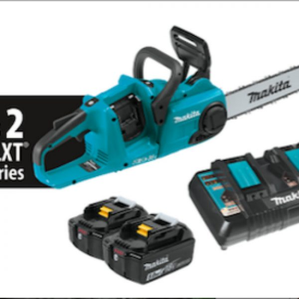 Win a selection of tools from Makita including chain saw, blower, trimmer, and more!