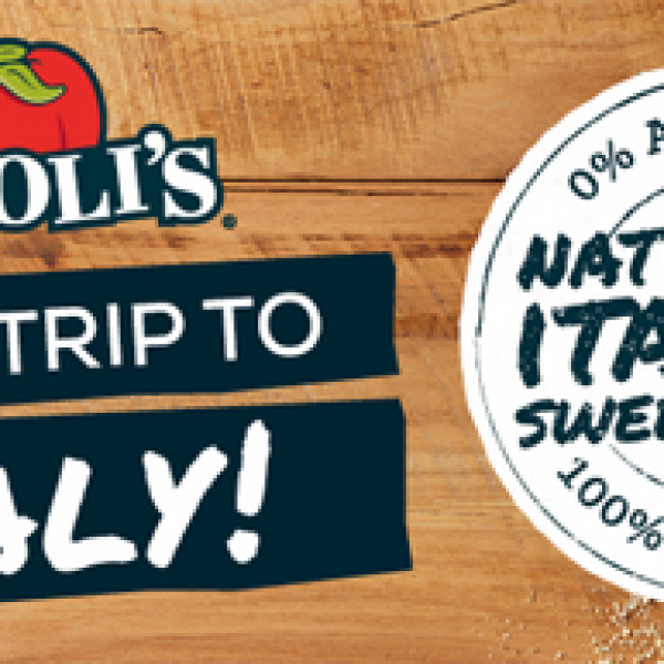 Win a Trip to Italy: Naturally Italian Sweepstakes!