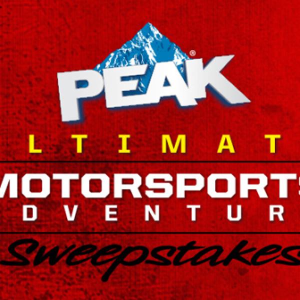 Ultimate Motorsports Weekend $15,000 Sweepstakes!