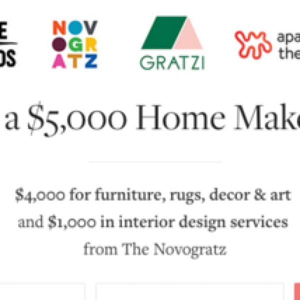 Win a $5000 Home Makeover from PureWow!