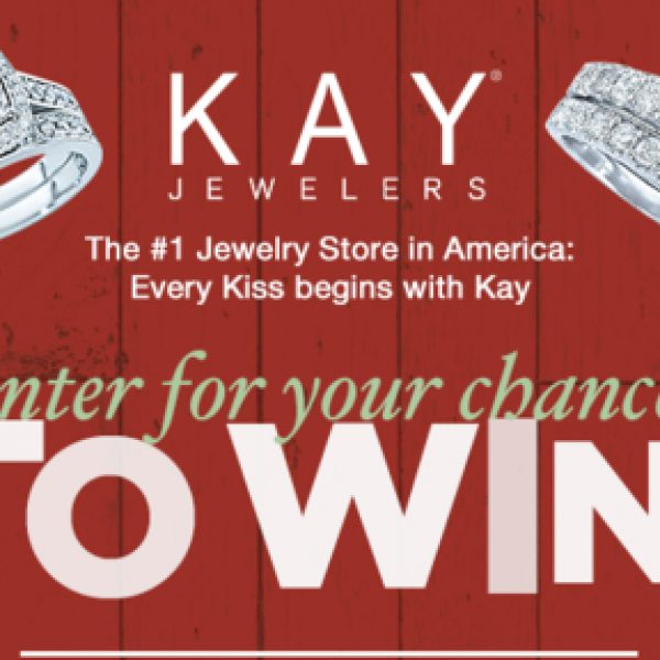 Win a Kay Jewelers gift card for a $1,000!