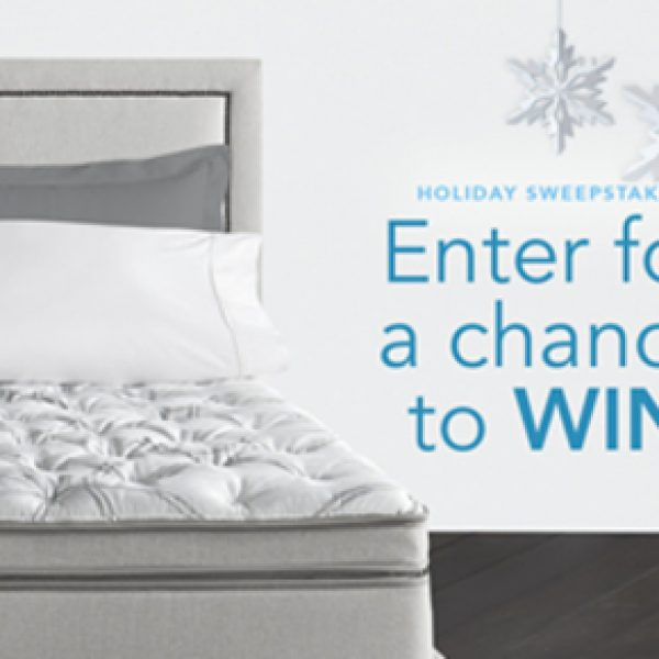 Win a Queen Sleep Numberi8 mattress and modular base set with tons of extras!