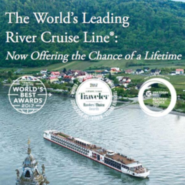 Win a Grand European cruise including airfare and accommodations!