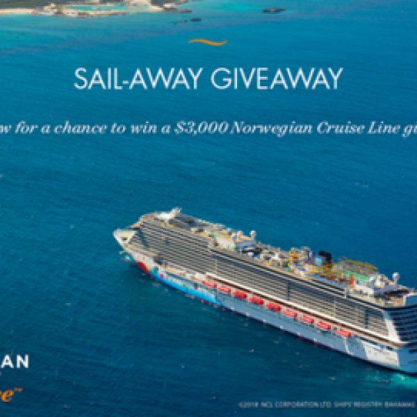 Win a $3,000 Norwegian Cruise Line gift card!
