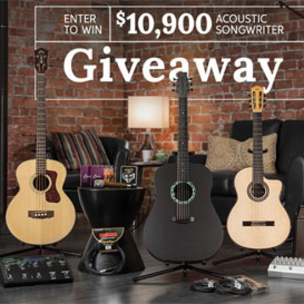 Sweetwater $10,000 Acoustic Songwriter Sweepstakes!