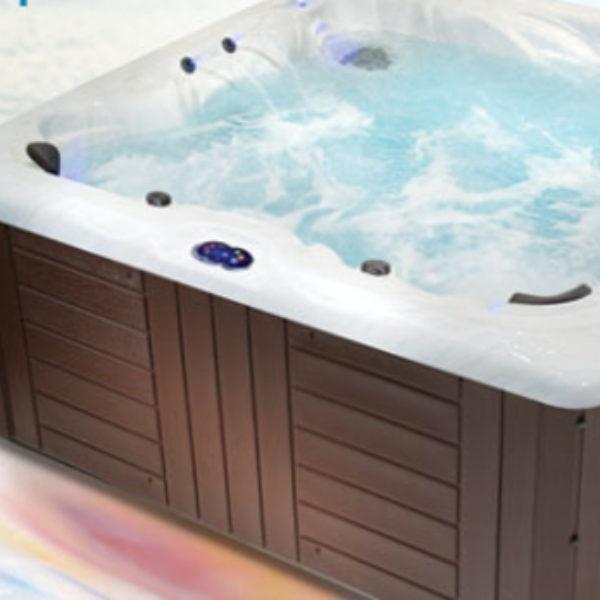 Win a Hot Tub form Healthy Living, Model HL7. A $10,000 value!