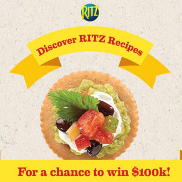 Ritz Crackers: Win $100,000!