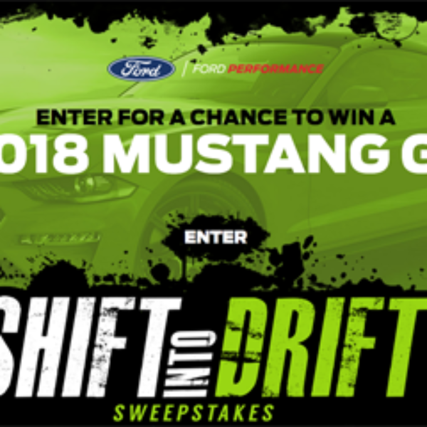 Win a Ford GT Worth $50,000!