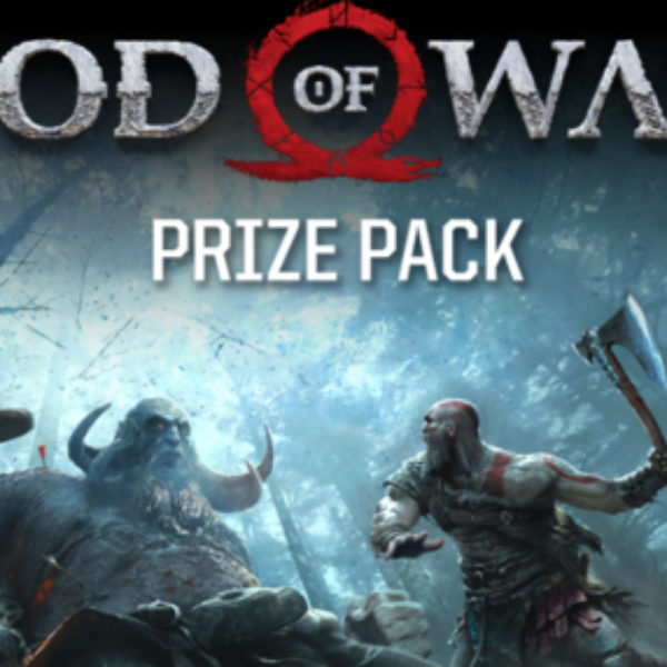 Win a Playstation 4 Pro game and the new God of war game!