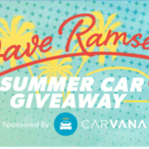 Win a car and $2,000 from Dave Ramsey!