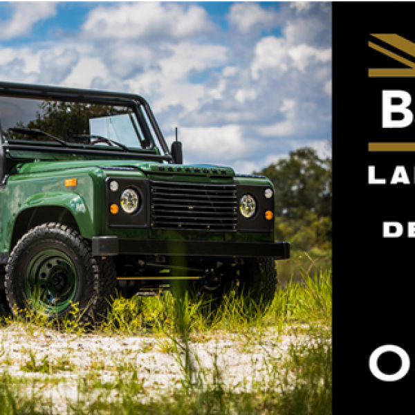 Great Defender Adventure Sweepstakes: Win a Land Rover