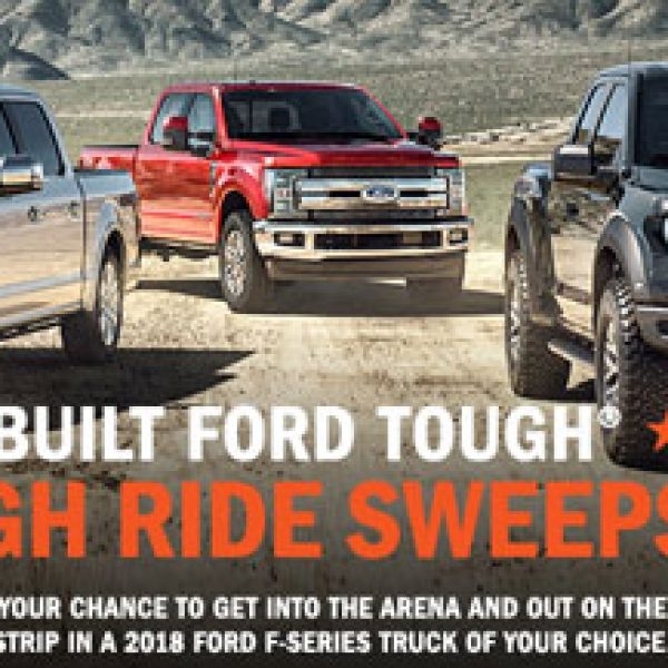 Ford: Win a new Ford F-150 truck