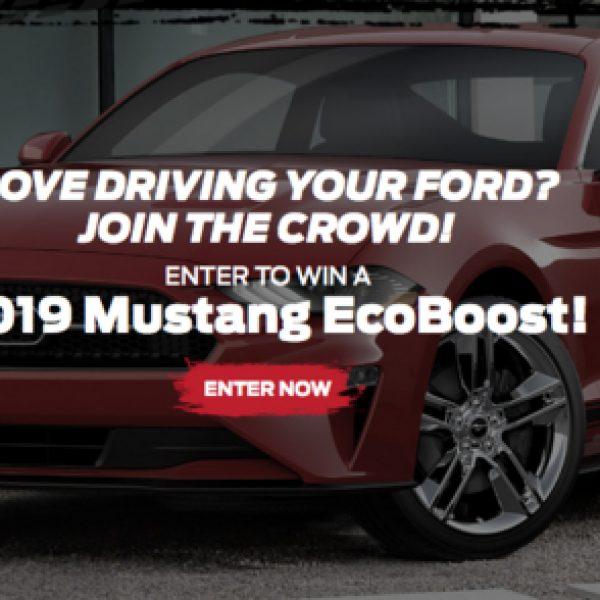 Ford Performance: Win a 2019 Ford Mustang EcoBoost Premium Car