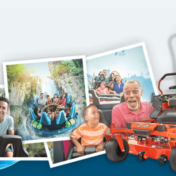 Sea World: Win a Bad Boy Mower and a trip to Sea World