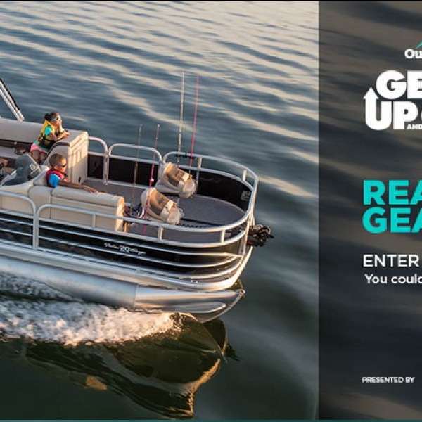 Outdoor Channel: Win a 2018 Sun Tracker Fishin' Barge and more