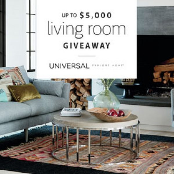 Universal Furniture: Win $5,000 worth of Living Room Furniture