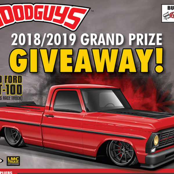 Goodguys: Win a 1969 Ford GRT-100 Truck