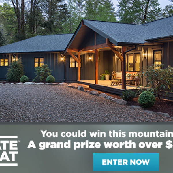 DIY Network: Win a Mountain Retreat and $50,000