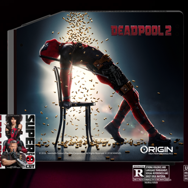 Origin PC: Win a Millennium gaming desktop and a Deadpool 2 Blu-ray