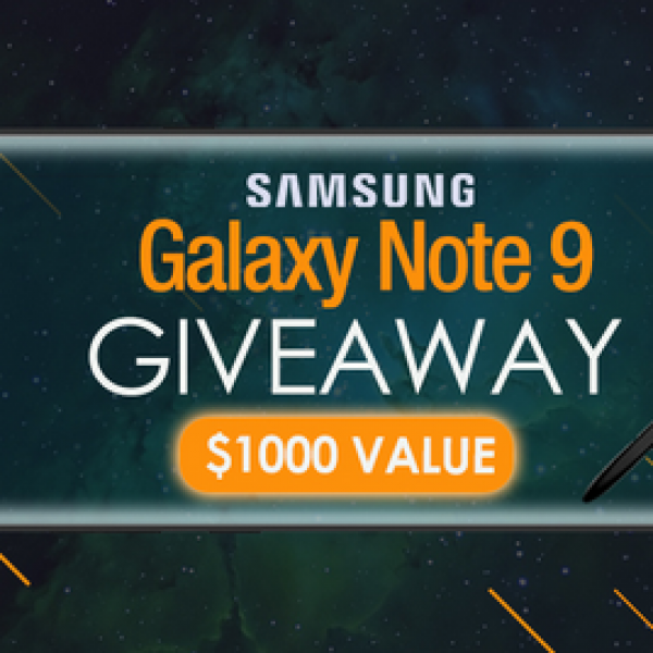 Supcase: Win a Samsung Galaxy Note 9 phone