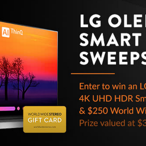 World Wide Stereo: Win a LG 55-inch OLED 4K UHD HDR Glass Design Smart TV