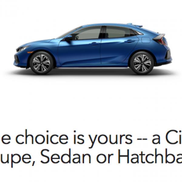 Honda: Win a Honda Civic or $10,000