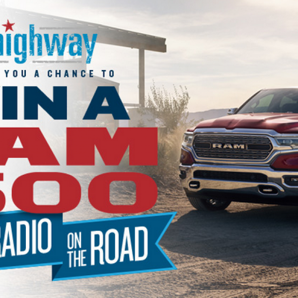 SiriusXM: Win an all-new 2019 Dodge Ram 1500 Truck
