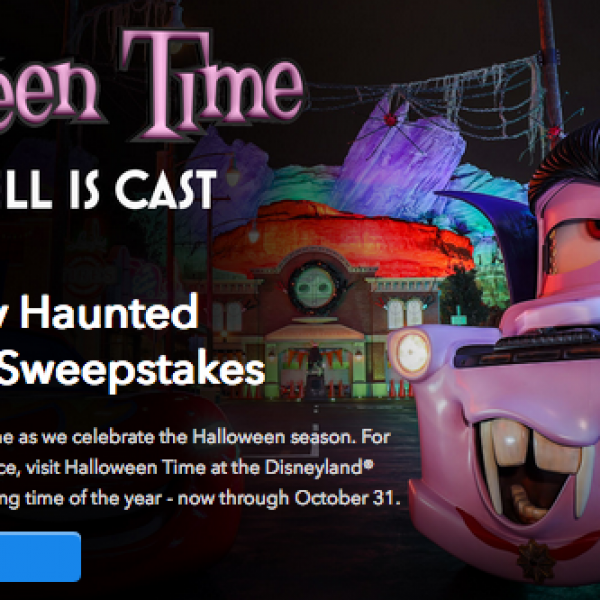 Disney Parks: Win a trip for four to the Disneyland Resort in California