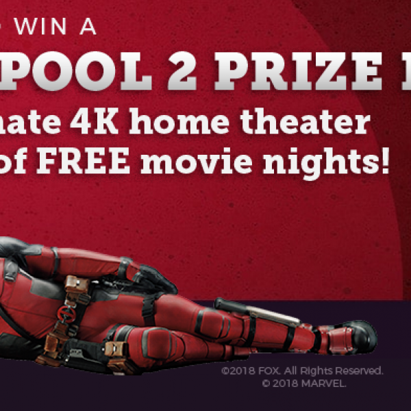 Redbox: Win a Sony 4K Ultra HD Smart LED TV, Soundbar and more