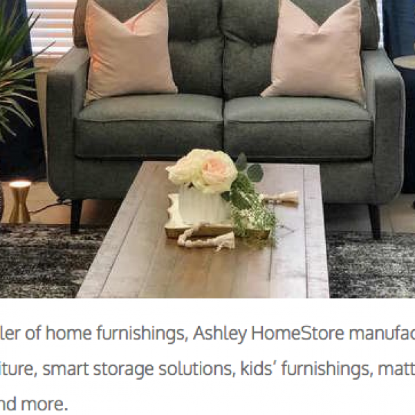Bob Vila: Win a $1,000 Ashley HomeStore shopping spree!