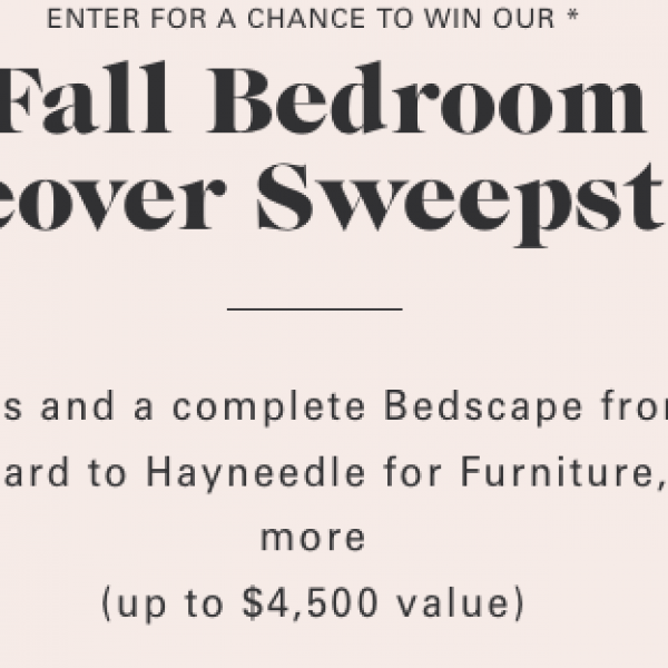 Allswell: Win a $2,500 Hayneedle gift card, an Allswell mattress, and an Allswell bedscape