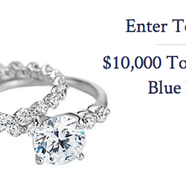 Blue Nile: Win a $10,000 Jewelry shopping Spree