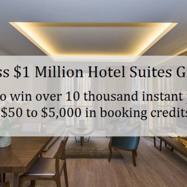 Suiteness: Win $1 Million in prizes