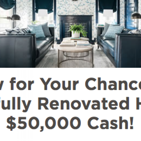 HGTV: Win a Newly Renovated Home and $50,000