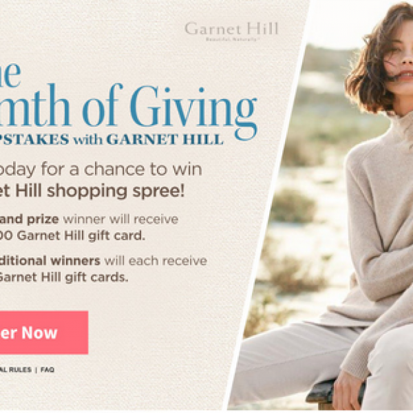 Traditional Home: Win $10,000 worth of Garnet Hill Gift Cards